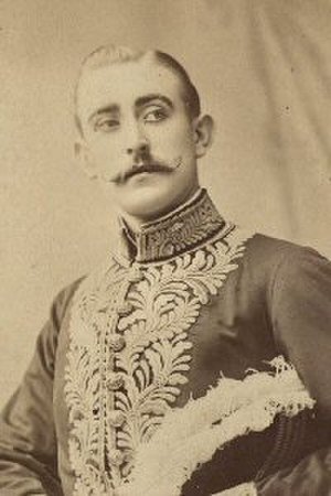 R. Scott Fishe - Fishe as Mr Goldbury in  Utopia Limited in 1893