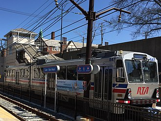 RTA Rapid Transit - Image: RTA Blue Line Train 4 2016 Crop