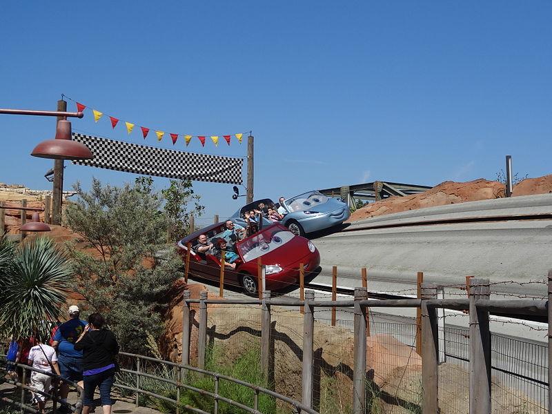 Carros na Disney Califórnia