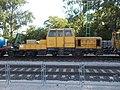 Rail service vehicle, railway station, 2017 Dorog.jpg