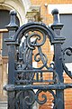 Railings incorporating Edward VII monogram, Ashdown Road, Kingston-upon-Thames - geograph.org.uk - 1864469.jpg