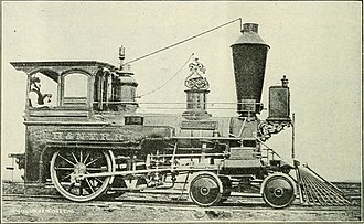 4-2-0 - Hackensack and New York Railroad 4-2-0