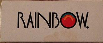 Rainbow Room - Rainbow Room matchbook, ca. 1996