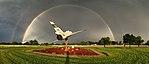 Rainbow appears over JBSA 150617-F-OL185-001.jpg