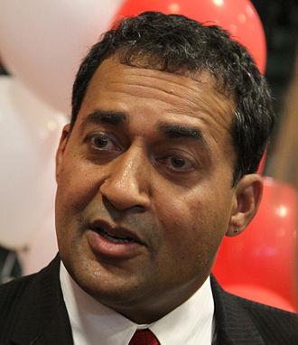 Alberta general election, 2012 - Image: Raj Sherman cropped