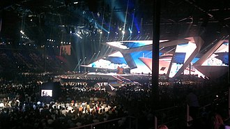 Montenegro in the Eurovision Song Contest - Image: Rambo Amadeus Eurovision 2012 Baku Semi Final