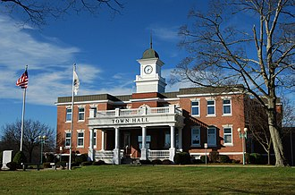 Randolph, Massachusetts - Randolph Town Hall