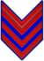Rank insignia of caporale maggiore paracadutista of the Italian Army (1941).png