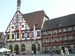 Forchheim Place in Bavaria, Germany