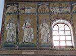 Ravenna, sant'apollinare nuovo, int., santi e profeti, epoca di teodorico 23.JPG