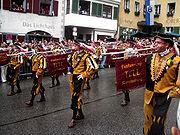 Ravensburg Rutenfest 2005 Festzug Fanfarenzug Tell