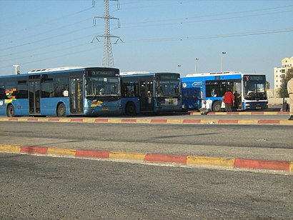 How to get to מסוף רידינג with public transit - About the place