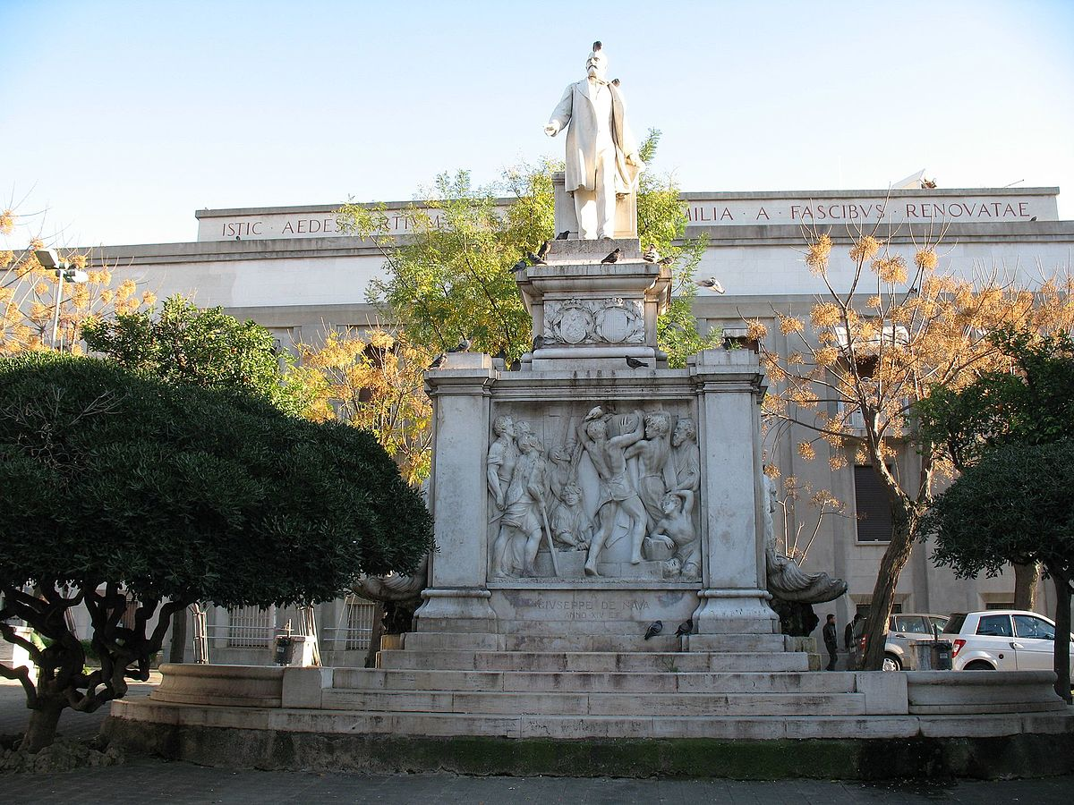 File:Reggio Calabria - Monumento a Giuseppe De Nava.jpg ...