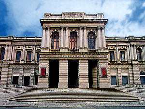 Music of Calabria - The Cilea Theater in Reggio di Calabria.