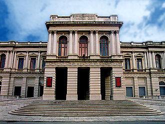 Music of Calabria - The Cilea Theater in Reggio di Calabria.