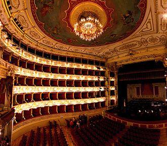 Teatro Regio (Parma) - Interior of the Teatro Regio, Parma, 31st of December 2016