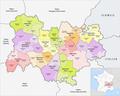 Region Auvergne-Rhône-Alpes Arrondissement 2019.png
