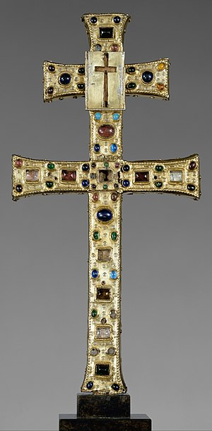 Reliquary - Reliquary Cross, French, c. 1180