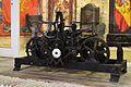 Rellotge al quarter de la Tropa, castell de santa Bàrbara d'Alacant.JPG