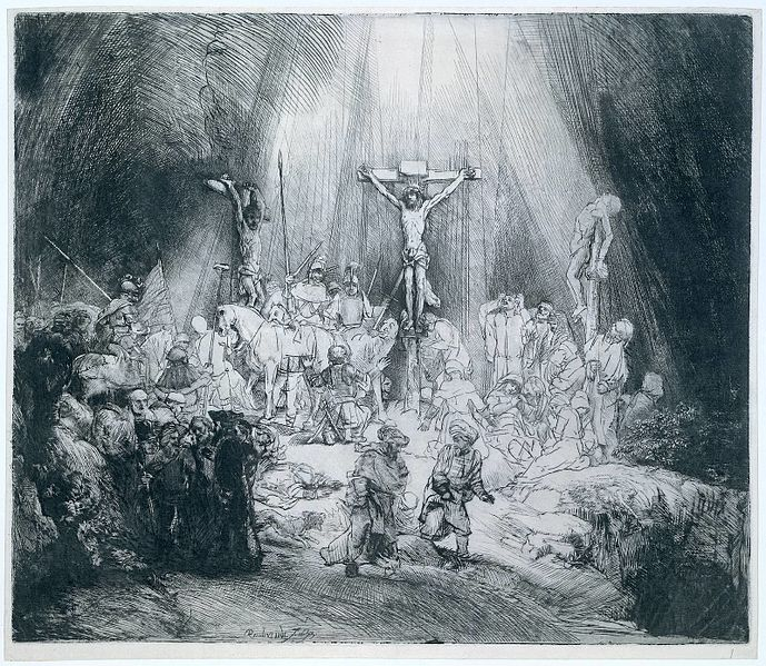 Tiedosto:Rembrandt The Three Crosses 1653.jpg