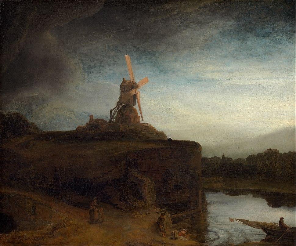 Rembrandt van Rijn - The Mill - Google Art Project