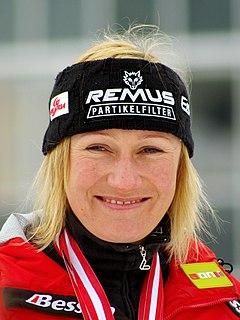 Renate Götschl Austrian alpine skier