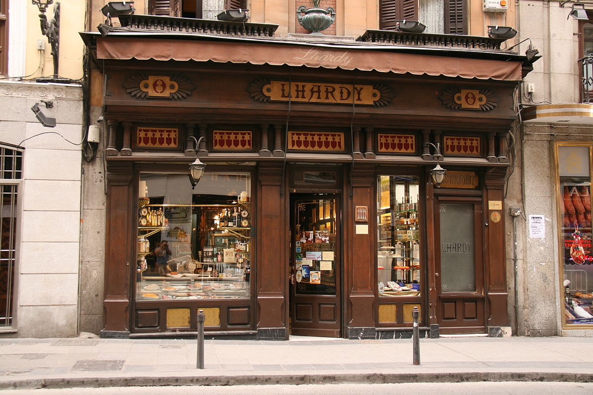 Lhardy wikipedia la enciclopedia libre for Restaurante puerto rico madrid