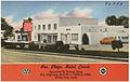 Rex Plaza Hotel Court, U.S. Highways, 45 & 78 -- Tupelo, Miss. (5528926323).jpg