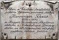 Rezső Manninger plaque Sopron Várkerület30.jpg