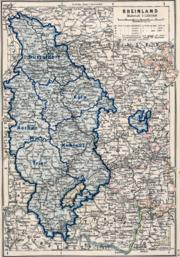 Rheinland Regierungsbezirke 1905