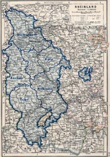 Map Of Germany Rhineland.Rhineland Wikipedia