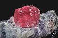 Rhodocrosite, quartz, fluorine violette 2(USA).jpg