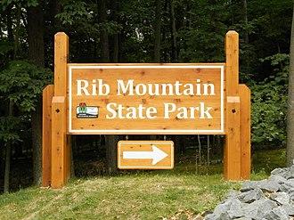 Rib Mountain State Park - Entrance to Rib Mountain State Park