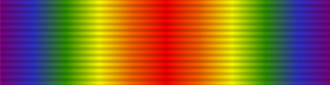 Victory Medal (United Kingdom) - Image: Ribbon Victory Medal
