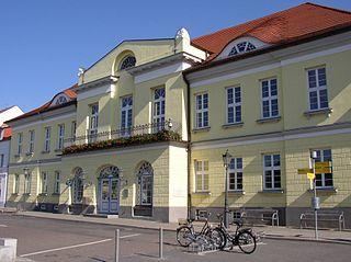 Ribnitz-Damgarten Place in Mecklenburg-Vorpommern, Germany