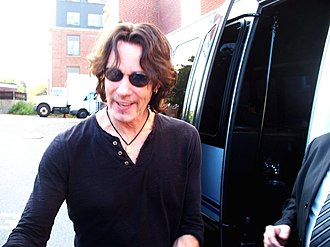 Rick Springfield - Springfield in September 2011 before a performance in Boston