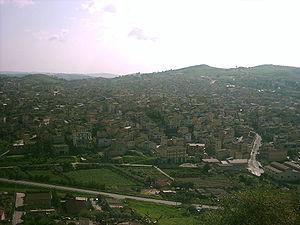 Riesi - Image: Riesi panorama