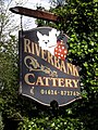 Riverbank Cattery sign - geograph.org.uk - 785549.jpg