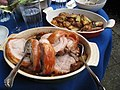 Roast pork loin, potatoes (2585116058).jpg