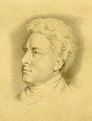 Robert Clutterbuck - Robert Clutterbuck, drawing by William Henry Hunt