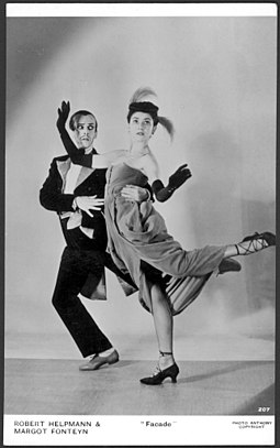 Helpmann and Fonteyn: the Tango-Pasodoble in Facade Robert Helpmann and Margot Fonteyn, Facade - Anthony (17590713096).jpg