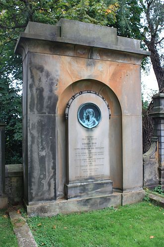 Robert Reid (architect) - Robert Reid monument, Dean Cemetery