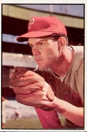 Baseball Hall of Fame balloting, 1976 - Image: Robin Roberts 1953bowman