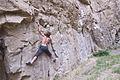 Rock climbing in Tbilisi Botanical Garden 03.jpg