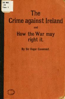 Roger Casement - The crime against Ireland and how the war may right it.djvu
