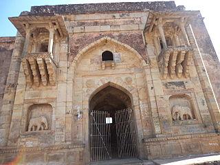 Rohtas Fort, India building in India