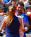 Roland Garros 20140531 Alize Cornet & Jonathan Eysseric 4.jpg