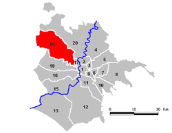 Location of Municipio XIX
