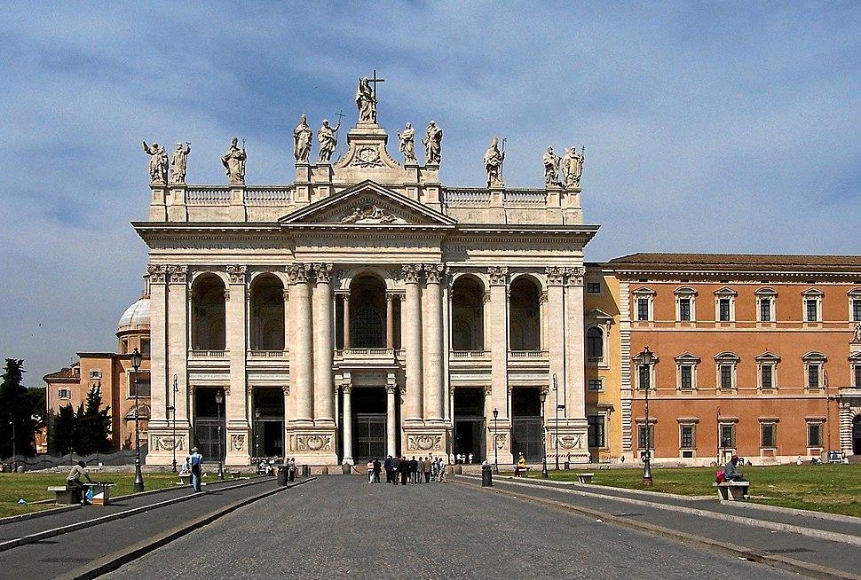 Roma San Giovanni in Laterano BW 2