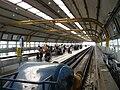 Rome Fiumicino airport trainstation.jpg